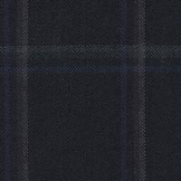 Navy 95% S130s Worsted 5% Cashmere Custom Suit Fabric