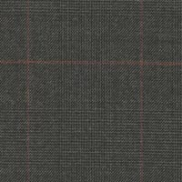Gray 100% Super 180'S Worsted Custom Suit Fabric