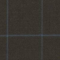 Brown 100% Super 180'S Worsted Custom Suit Fabric