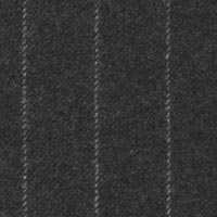 Charcoal 100% Super 180'S Woollen Spun Custom Suit Fabric