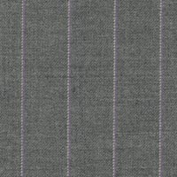 Silver Gray 100% Super 130'S Worsted Custom Suit Fabric