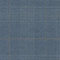 Slate Blue 100% Super 130'S Worsted Custom Suit Fabric