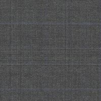 Dark Gray 100% Super 130'S Worsted Custom Suit Fabric