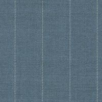 Blue 100% Super 130'S Worsted Custom Suit Fabric