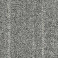 Silver Gray 98% S160sworsted1% Cash1%Smink Custom Suit Fabric