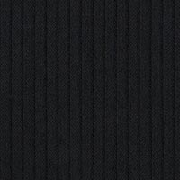 Black 100% Super 120S Worsted Custom Suit Fabric