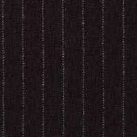 Black 100% Super 140S Worsted Custom Suit Fabric