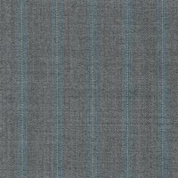 Silver 100% Super 180S Worsted Custom Suit Fabric