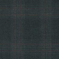 Charcoal&Red 100% Super 180S Worsted Custom Suit Fabric