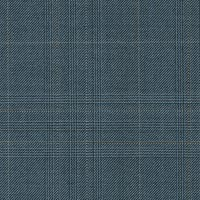 Blue Tan 100% Super 180S Worsted Custom Suit Fabric