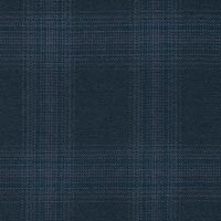Navy 100% Super 180S Worsted Custom Suit Fabric