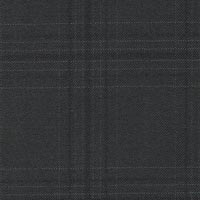 Black 100% Super 180S Worsted Custom Suit Fabric