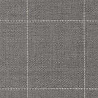 Silver Gray 60%Scot Merino 35%Merino5%Cash Custom Suit Fabric
