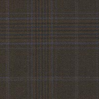 Brown&Blue 100% Super 180'S Worsted Custom Suit Fabric