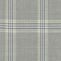 Silver Gray 100% Super 180'S Worsted Custom Suit Fabric