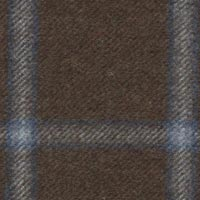 Brown 100% Super 180'S Woolen Spun Custom Suit Fabric