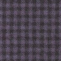 Aubergine 100% Super 180'S Woolen Spun Custom Suit Fabric