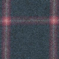 Blue 100% Super 180'S Woolen Spun Custom Suit Fabric