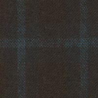 Dark Brown 100% Wool Worsted Custom Suit Fabric