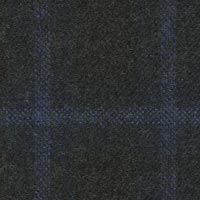 Charcoal 100% Wool Worsted Custom Suit Fabric