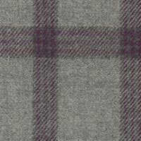 Silver 100% Wool Worsted Custom Suit Fabric