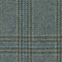 Silver Gray 100% Wool Worsted Custom Suit Fabric