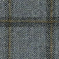 Slate Blue 90% S110s Wool 10% Cashmere Custom Suit Fabric