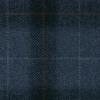 Dark Blue 90% S110s Wool 10% Cashmere Custom Suit Fabric