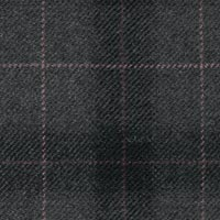Dark Gray 90% S110s Wool 10% Cashmere Custom Suit Fabric