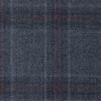 Blue 95% S130s Worsted 5% Cashmere Custom Suit Fabric