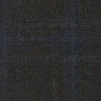 Brown 95% S130s Worsted 5% Cashmere Custom Suit Fabric