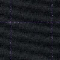 Black 100% Super 120'S Worsted Custom Suit Fabric