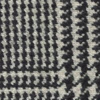 Black&White 100% Wool Custom Suit Fabric