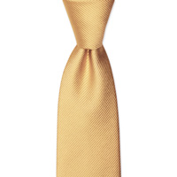 WOVEN TWILL SOLID TIE