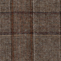 Brown 100% Super 130'S Wool Custom Suit Fabric