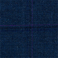 Charcoal&Blue 98% Wool 2% Cashmere Custom Suit Fabric