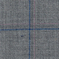 Gray 98% Wool 2% Cashmere Custom Suit Fabric