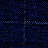 Blue 95% Wool 8% Cashmere Custom Suit Fabric