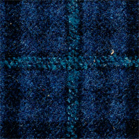 Blue 90% Wool 10% Cashmere Custom Suit Fabric