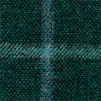 Green 90% Wool 10% Cashmere Custom Suit Fabric