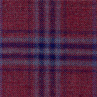 Maroon 100% Super 130'S Wool Custom Suit Fabric