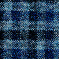 Blue 98% Wool 2% Cashmere Custom Suit Fabric