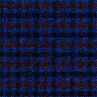 Blue 100% Super 120`S Wool Custom Suit Fabric