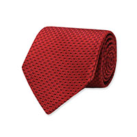 RED WOVEN PIN DOT