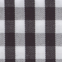 Black Check Custom Shirt Fabric