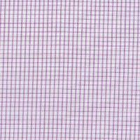 Lavender Mini Check Custom Shirt Fabric