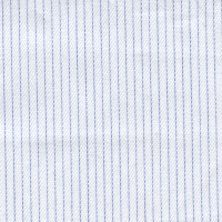 Blue Twill Stripe Custom Shirt Fabric