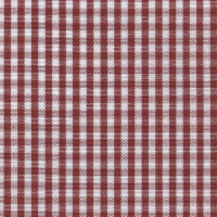 Red Gingham Custom Shirt Fabric