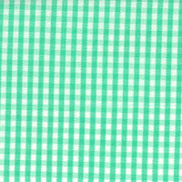 Green Check Custom Shirt Fabric