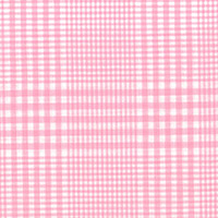 Pink & White Plaid Custom Shirt Fabric